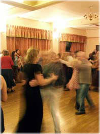 Dancing at Rhys Prichard Memorial Hall - 15/02/08